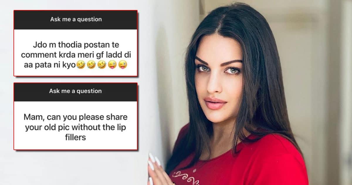 Himanshi Khurana Hits Back At Trolls Alleging She Got Lip Fillers