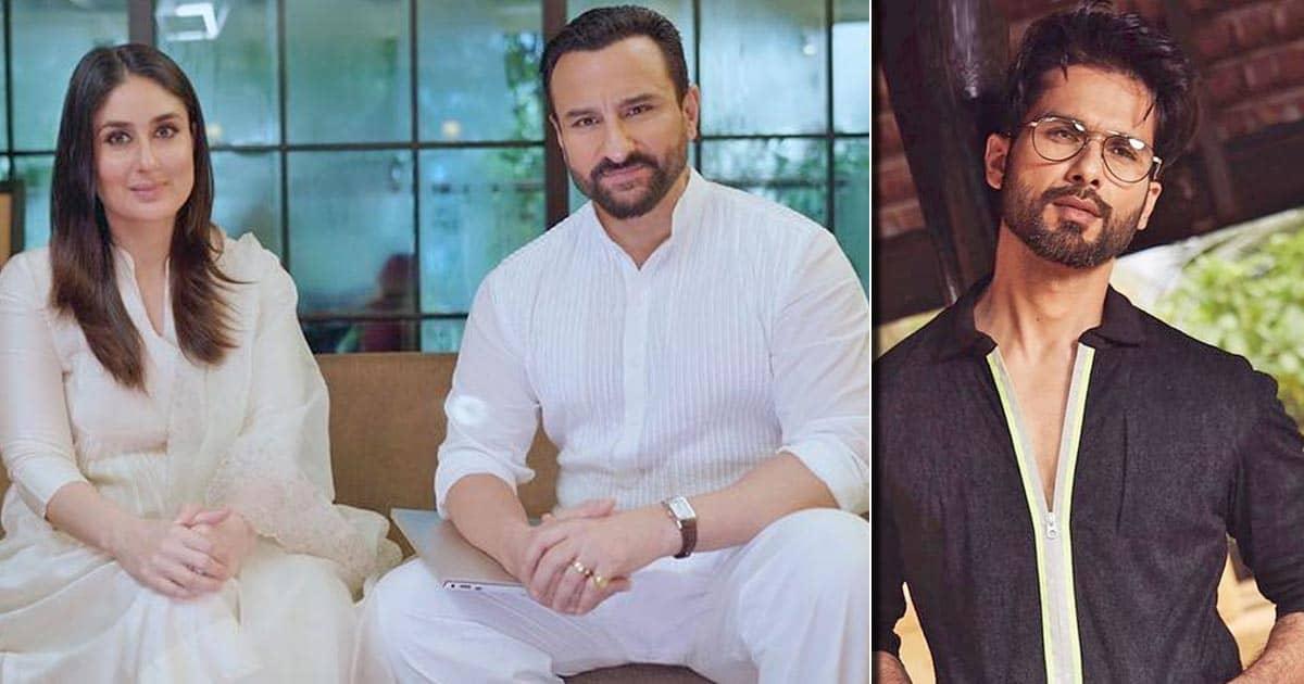 "When Kareena Kapoor said we met Jab Shahid Kapoo ""It changed his career"" but Tashan ""Saif Ali Khan"" It changed his life """