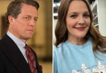 Hugh Grant, Drew Barrymore on their surprise kiss years ago