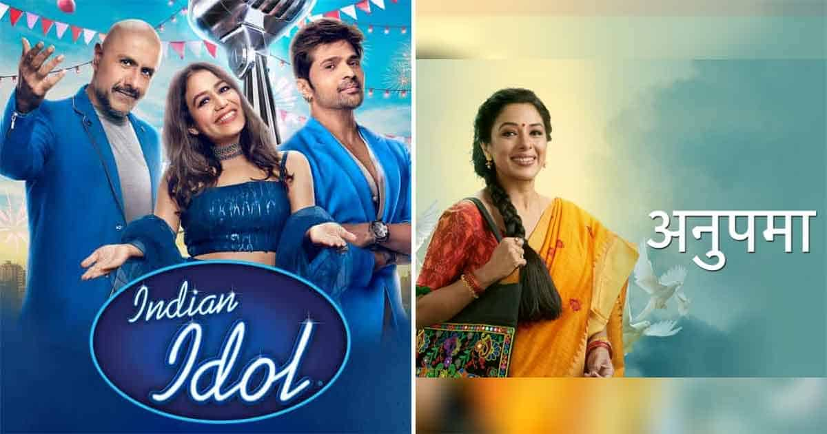 TRP Report: Anupamaa Remains At Top, Indian Idol 12 Finally Climbs Up The Ladder