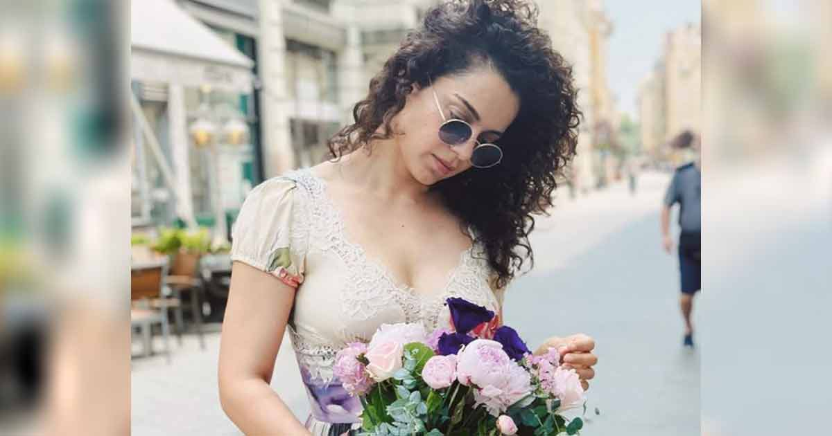 Kangana Ranaut Indirectly Slams 'Bollywood's Bimbos' For Shooting Typical Insta-Style Pictures, Read On