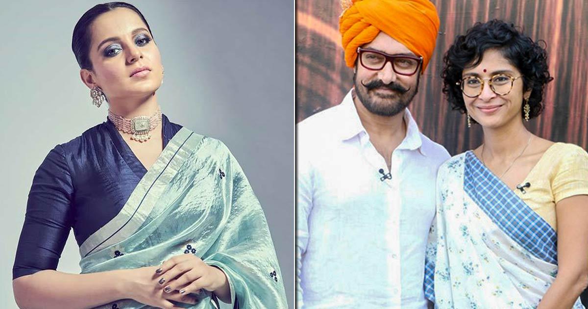 Kangana Ranaut Talks About Interfaith Marriages While Reacting To Aamir Khan & Kiran Rao's Divorce News