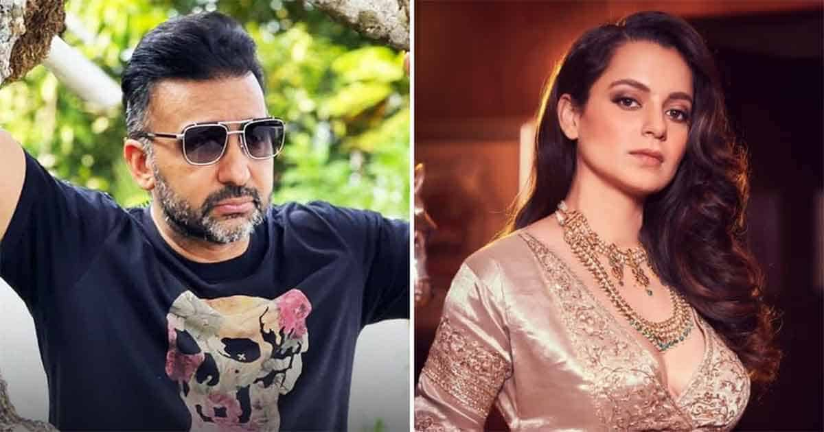 """Kangana Ranaut reacts strongly to the arrest of Raj Kundra, calling the industry a """"pipe"""" and how he will explain """"Bullywood"""" in his next film"""