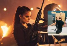 Kangana shares glimpse of fight practice for 'Dhaakad'