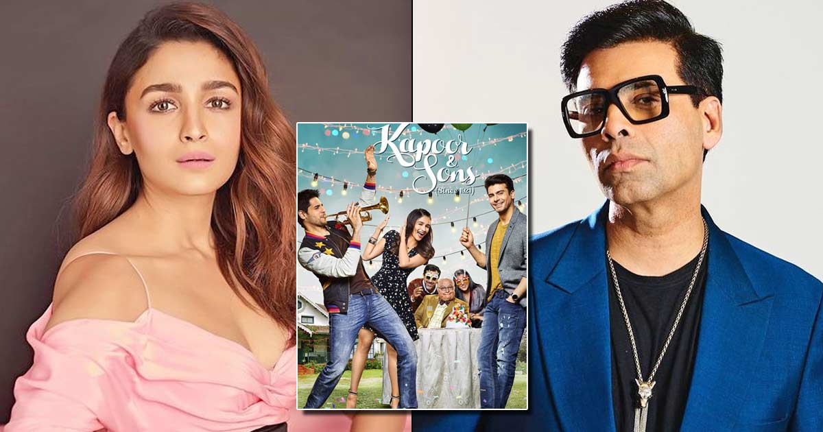 Karan Johar Once Tried To Convince Alia Bhatt To Not Sign Kapoor 7 Sons