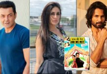 Kareena Kapoor Khan Had Reportedly Asked Producers To Replace Bobby Deol With Shahid Kapoor In Jab We Met