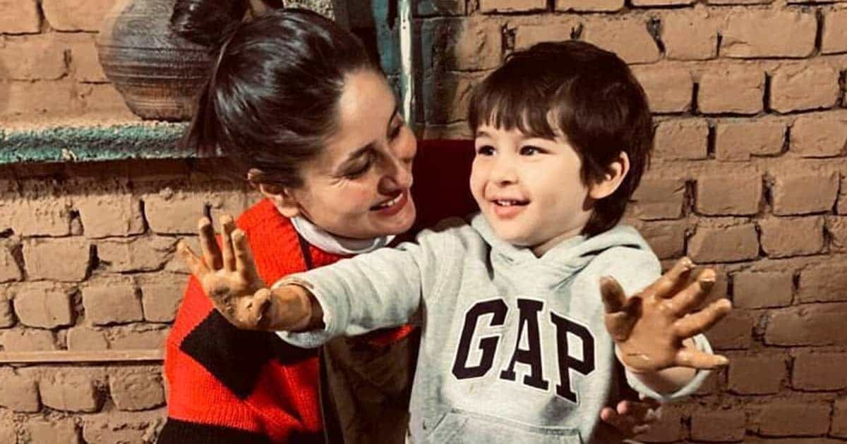 """Kareena Kapoor Khan: """"I Didn't Know How To Clean Taimur's Poop Or Put On His Diaper Properly…"""" - Check Out"""