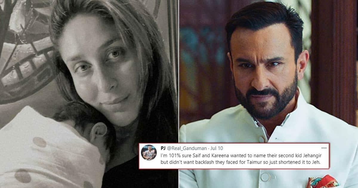 Kareena Kapoor Khan & Saif Ali Khan Are Being Trolled Over Naming Their Son Jeh