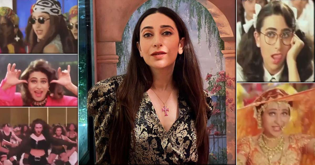 Karisma Kapoor expresses gratitude for 30 years in Bollywood with a flashback video