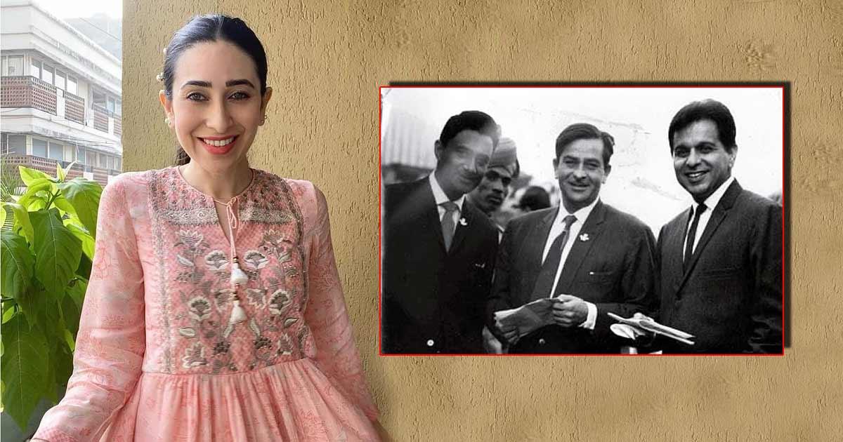 Karisma Kapoor posts throwback photo of 'the legendary trio'