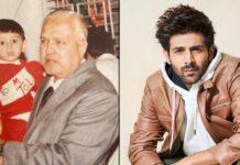 Kartik Aaryan mourns demise of maternal grandfather