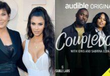 Kim Kardashian & Kris Jenner spills some secrets on Idris and Sabrina Elba's audio show 'Coupledom', available on Audible