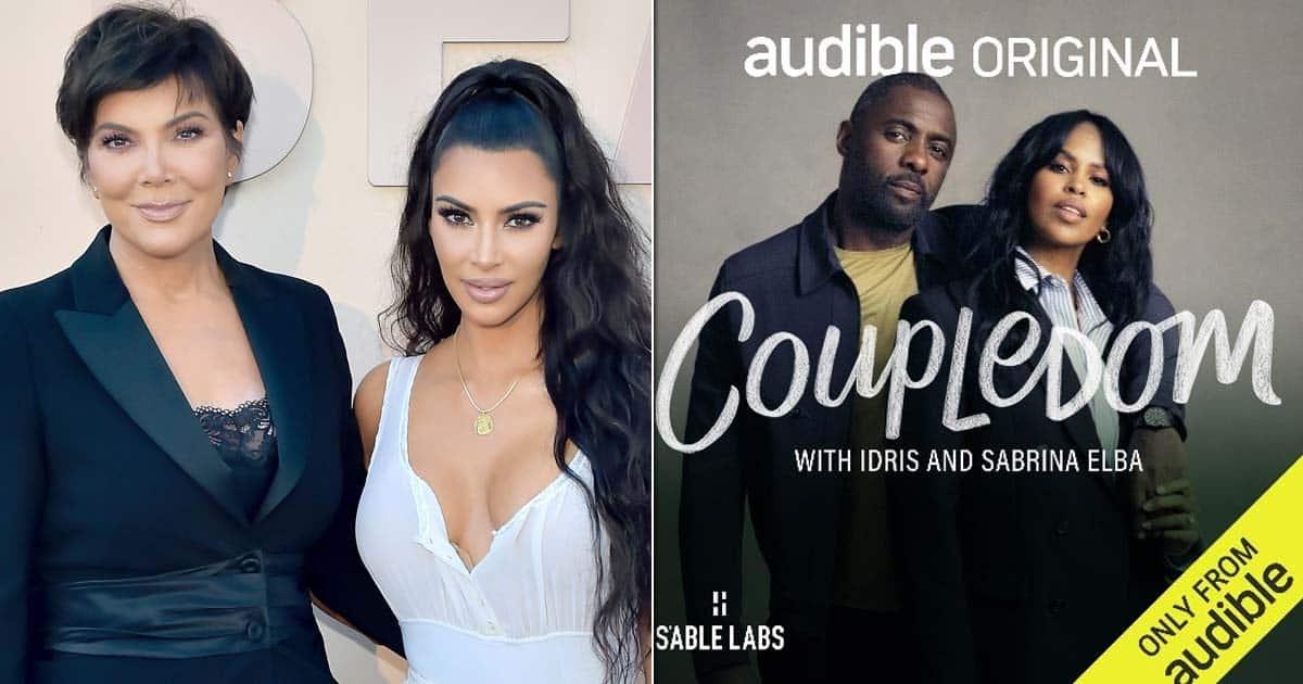 Kim Kardashian & Kris Jenner Spills Some Secrets On Idris & Sabrina Elba's Audio Show 'Coupledom', Available On Audible