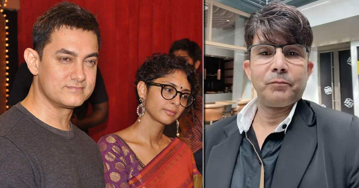 KRK Claims Aamir Khan, Kiran Rao Divorce Was A Laal Singh Chaddha Publicity Stunt