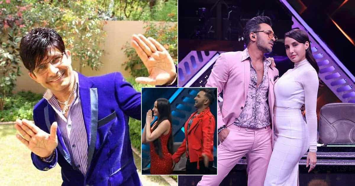 KRK Drags Nora Fatehi & Terence Lewis' B*tt Controversy In His Coca Cola Review
