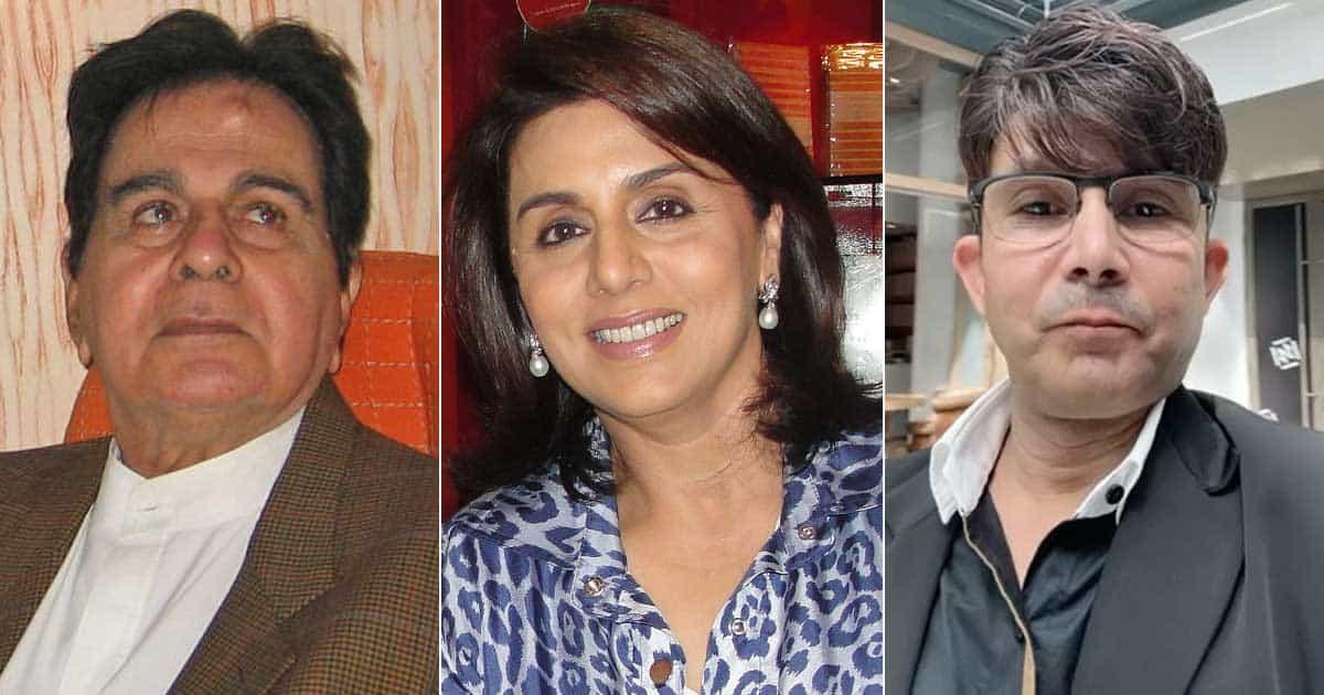 KRK On Neetu Kapoor Celebrating Her Birthday Amid Mourning Of Dilip Kumar