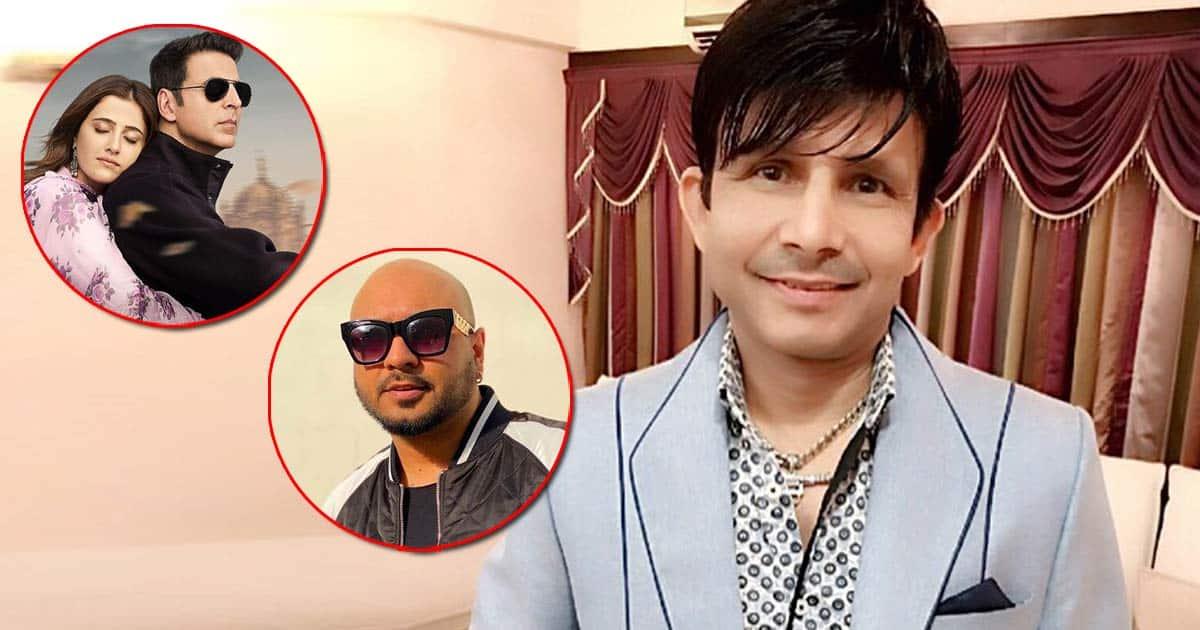 """KRK Reviews Filhall 2 Calling B Praak 'Takla' & Says, """"Akshay Kumar Ko Sochna Chahiye Nupur Sanon 25 Saal Ki Hai Aur Wo 55..."""" See Video"""