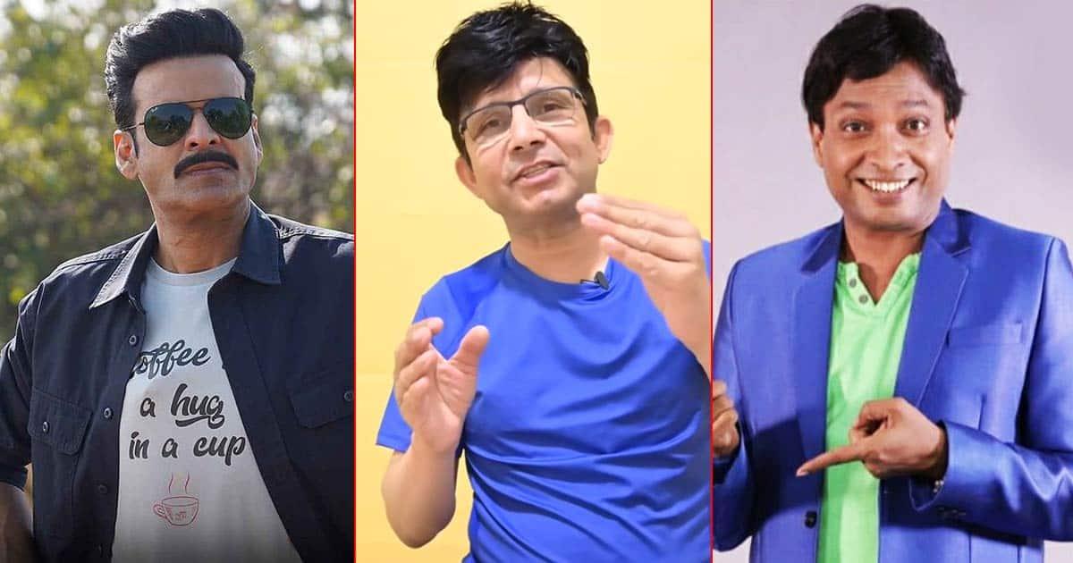 KRK Slams Manoj Bajpayee, Calls Him 'Ganjedi'