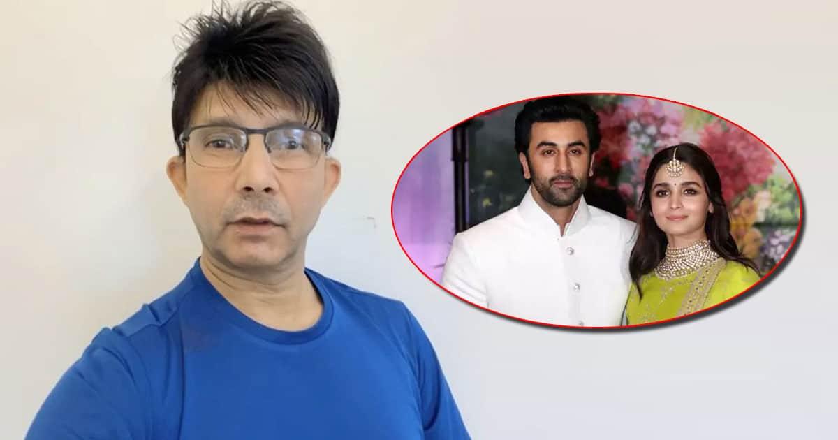 KRK Trolled For Predicting Alia Bhatt & Ranbir Kapoor's Marriage By 2022 Plus Divorce Within 15 Years, Read On!