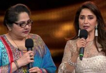 Madhuri Dixit Presents A Tearful Shagufta Ali A Rs 5 Lakh Cheque On Behalf Of Dance Deewane