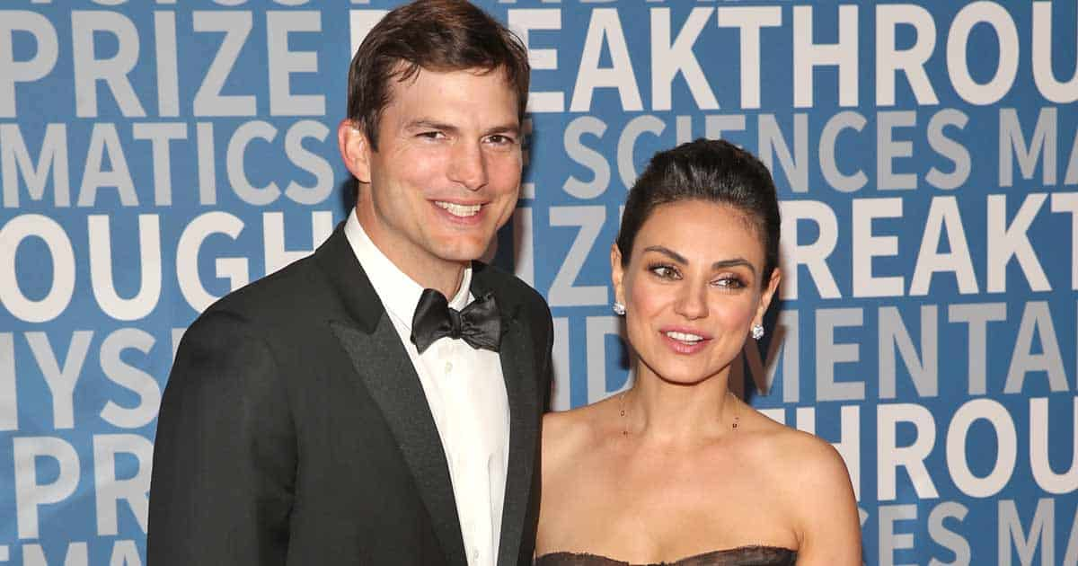Mila Kunis & Ashton Kutcher Reveal They Don't Wash Their Kids Every Day But Only When They See Dirt On Them