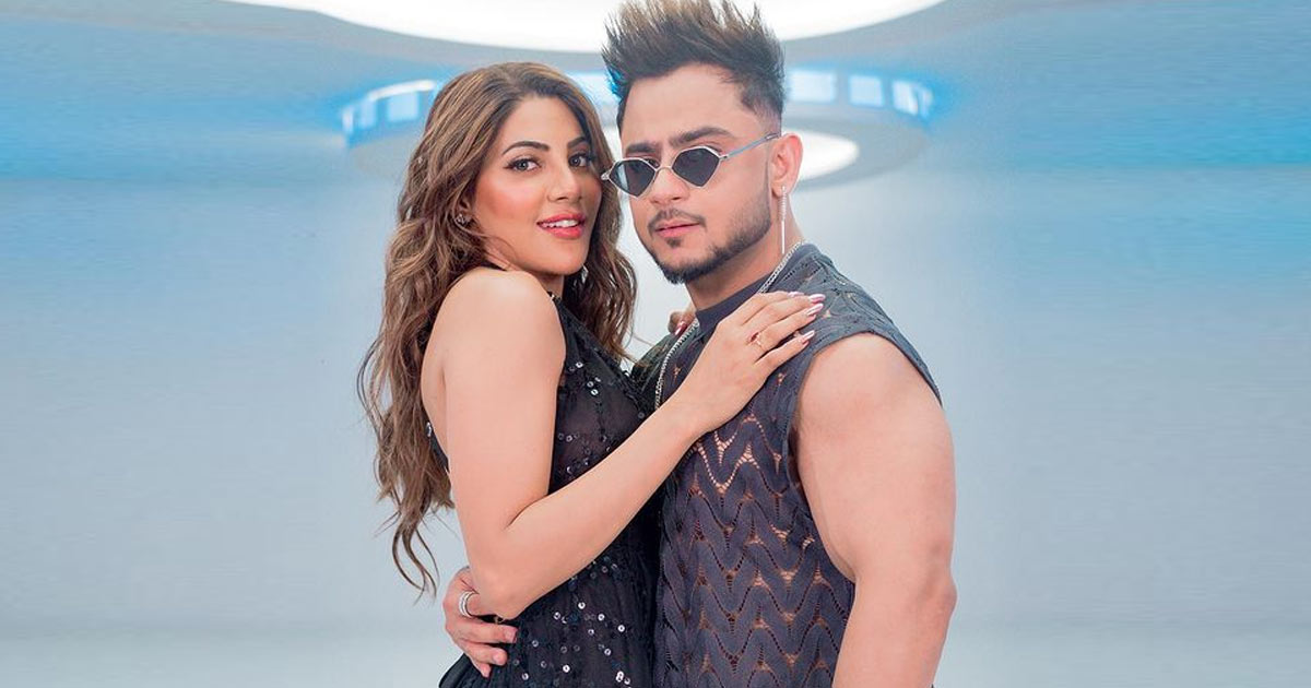 """""""Nikki Tamboli Is Savage,"""" Says Milind Gaba After Grooving With Her In His New Track 'Shanti'"""