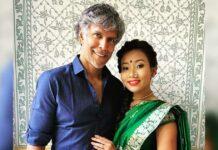 Milind Soman, Ankita Knowar share posts to mark 3rd anniversary