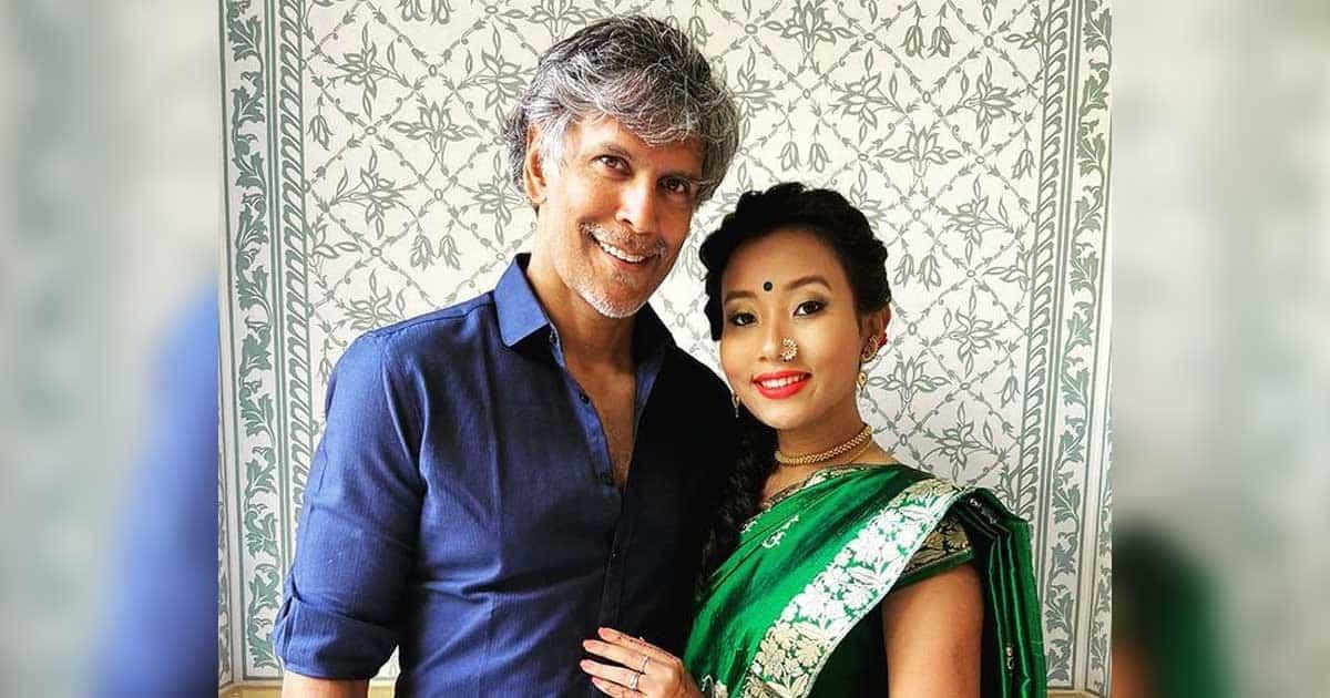 Milind Soman has written Cheese Writer with his wife Ankita Konwar as he celebrates his third birthday