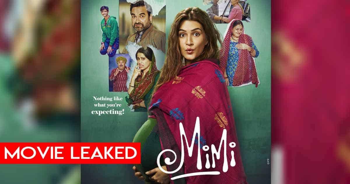 Kriti Sanon & Pankaj Tripathi Starrer Mimi Leaked Online