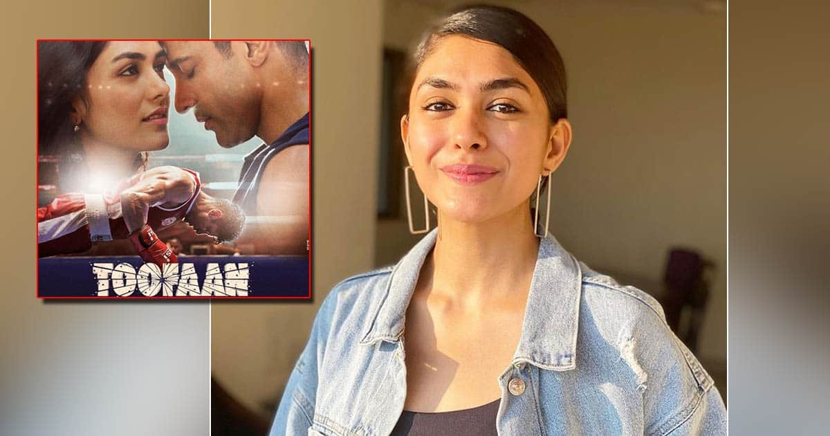 """Mrunal Thakur in his role Toofaan: """"I think all the other actors will be jealous"""""""