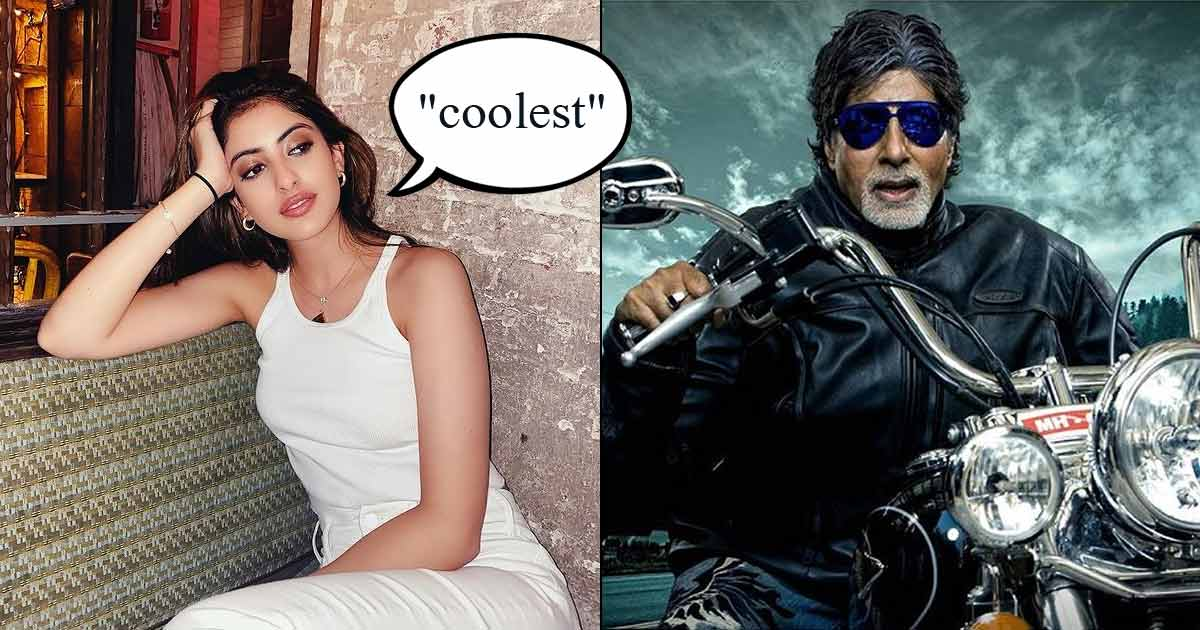 Navya Naveli Nanda Has The 'Coolest' Grandfather & Amitabh Bachchan's Picture Riding A Harley Davidson Is Proof!