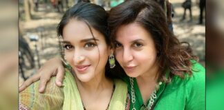 Nidhhi Agerwal's dream comes true after being directed by Farah Khan