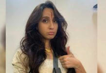Nora Fatehi sheds real blood for 'Bhuj: The Pride of India', scar on face depicts dedication