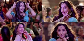 Personifying Adaah and Nazakat, Nora Fatehi's expressions are the star in 'Zaalima Cocoa Cola'