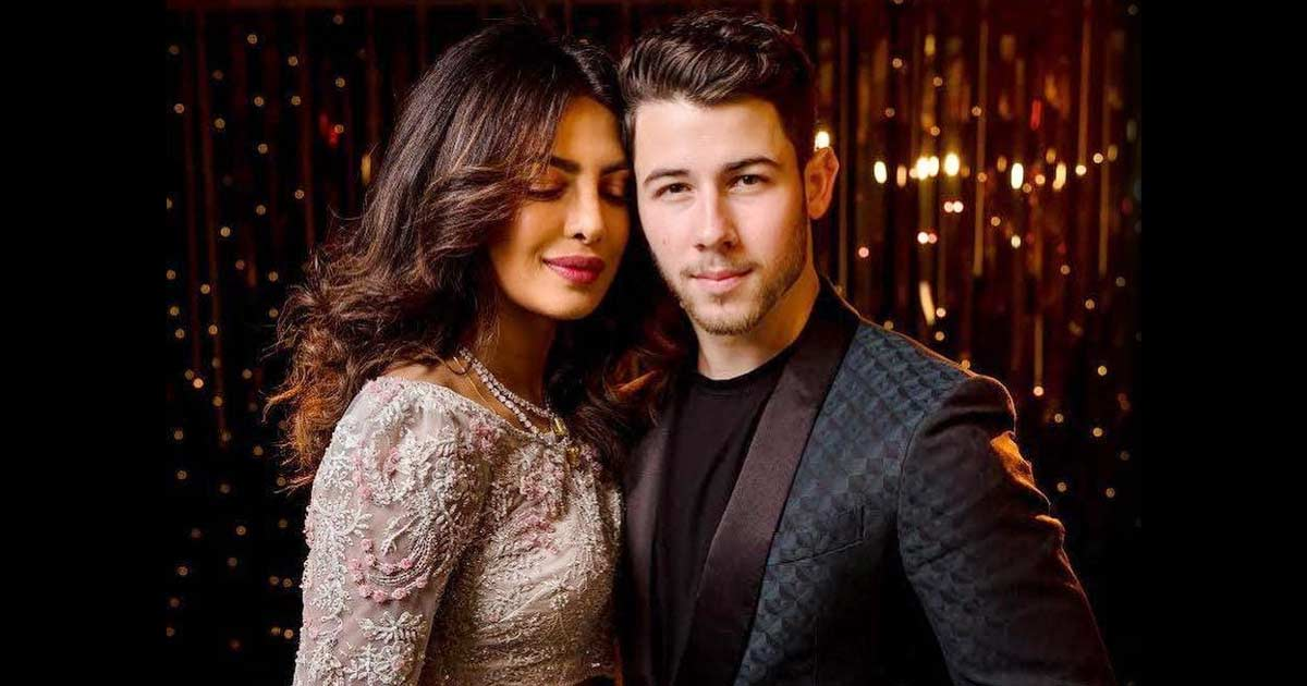 Priyanka Chopra poses with her 'firework' Nick Jonas