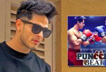 Priyank Sharma shares a glimpse of 'Puncch Beat 2' shoot