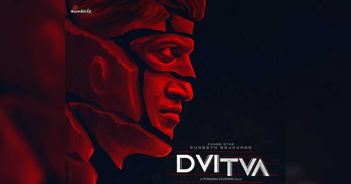 "Puneeth Rajkumar's next film titled ""Dvitva"""
