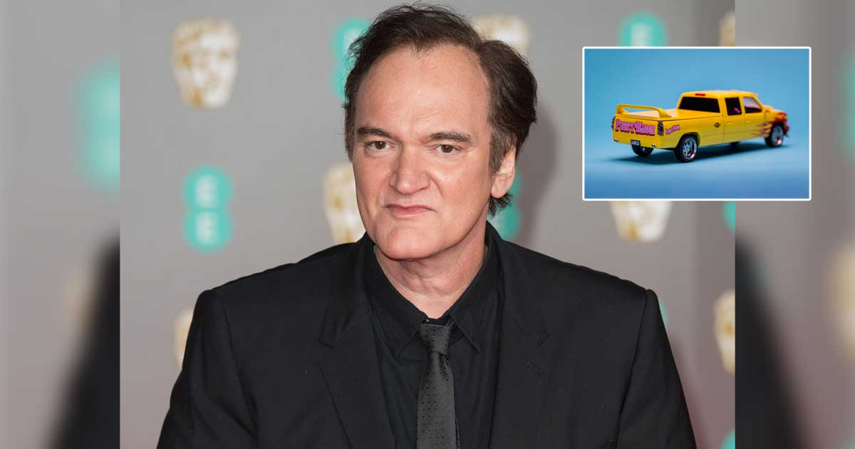 Quentin Tarantino No Longer Drives Around In Pussy Wagon from Kill Bill As It Is Too Recognizable