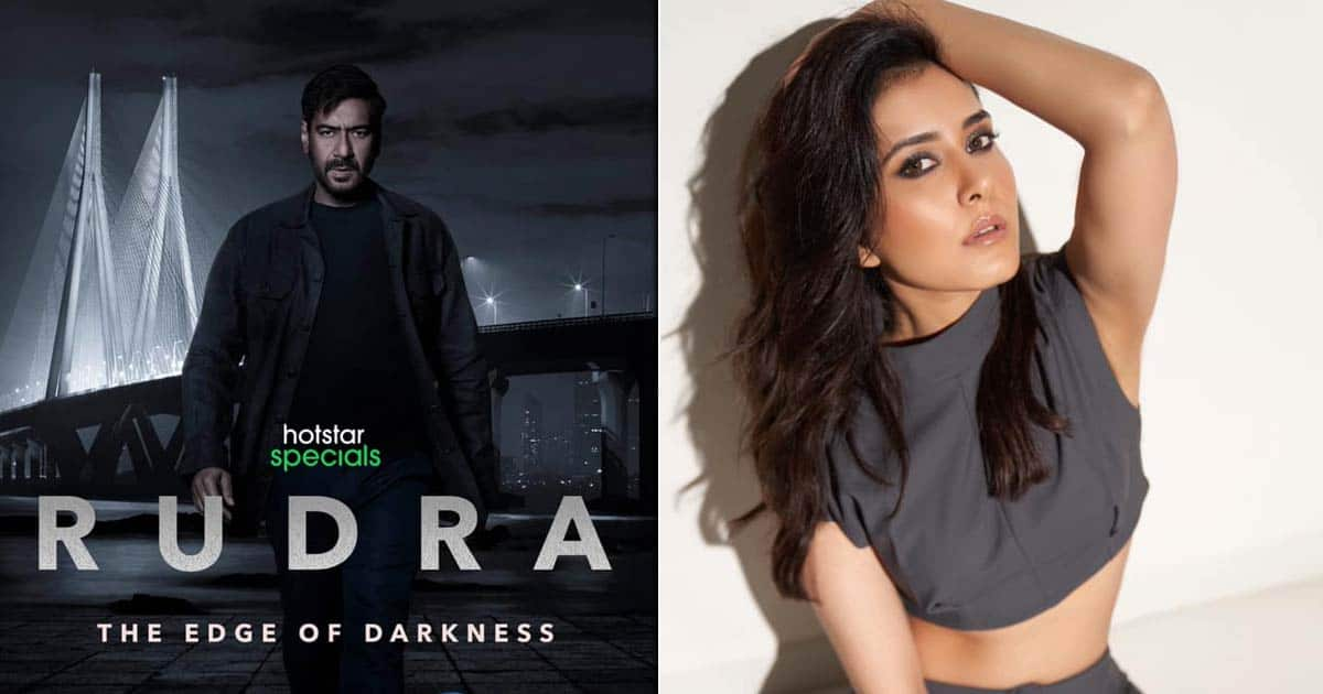 Raashii Khanna Is Bit Nervous To Be Part Of Ajay Devgn Led Rudra