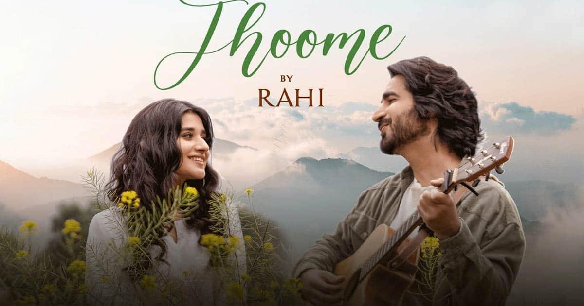 Rahi Crooned's 'Jhoome' captures the true essence of Kashmir!