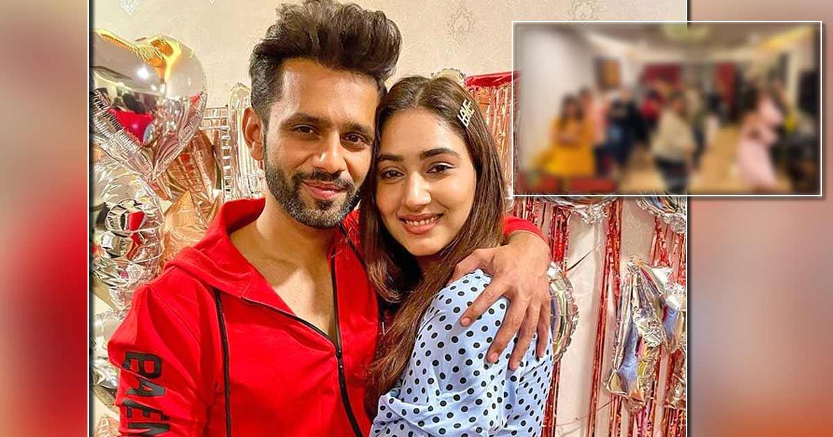 Rahul Vaidya Gives A Sneak Peek Into Pre-Wedding Dance Rehearsals With Disha Parmar