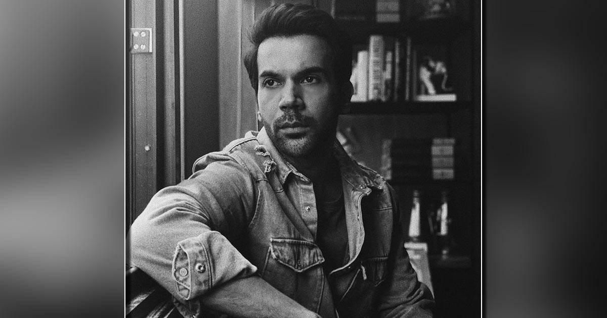 Rajkummar Rao posts a contemplative black and white portrait