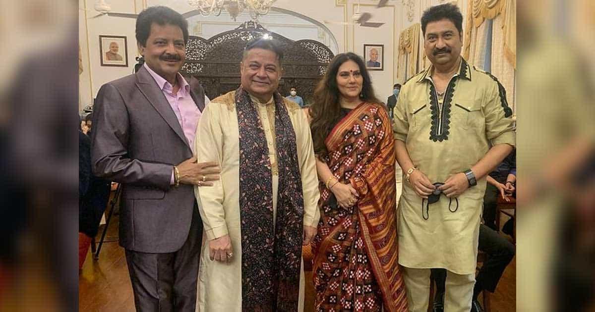 Ramayan Fame Dipika Chikhlia & Singers Udit Narayan, Kumar Sanu Felicitated With 'Made In India Icons 2021' Award By Maha Government
