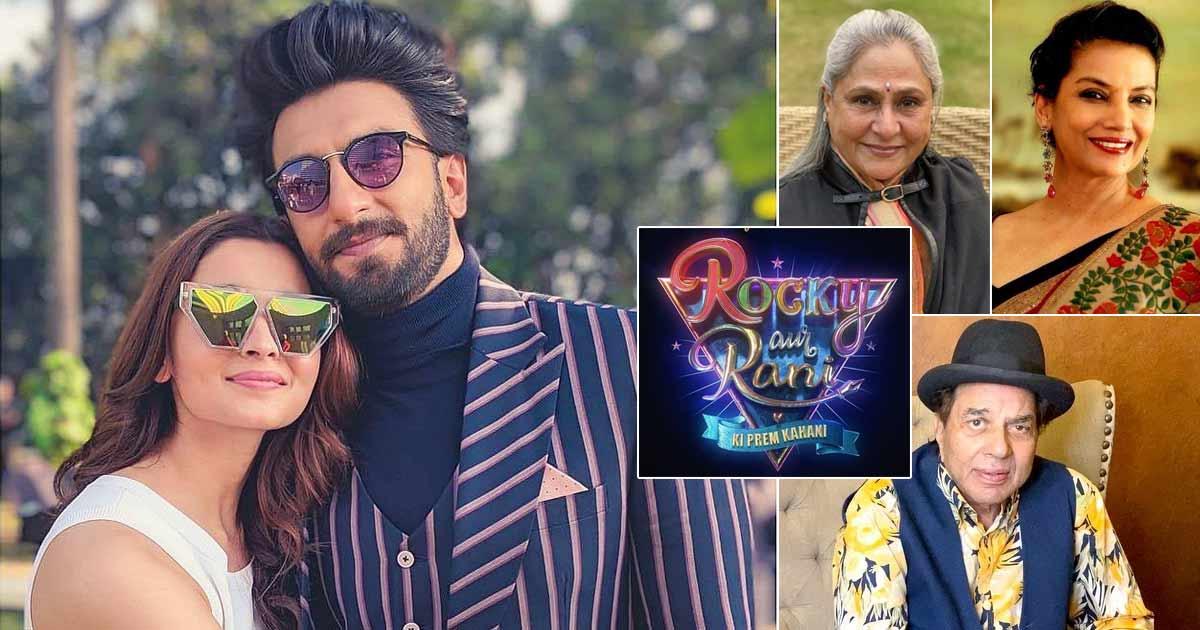 Ranveer Singh & Alia Bhatt Introduce The 'Senior Gems' Of Their Movie Rocky Aur Rani Ki Prem Kahani
