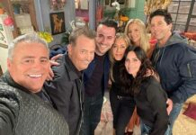 Reunion Special Of Friends Bags 4 Emmy Awards Nominations