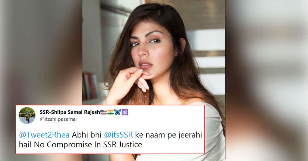 """Rhea Chakraborty Trolled As News Of Her Hollywood Debut Surfaces; Haters Say, """"Her Rabbit Face Can Only Be Signed To Be A Spotgirl"""""""