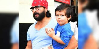 Saif Ali Khan Responds To Fan's Suggestion To Star In A Remake Of Baby's Day Out With Taimur