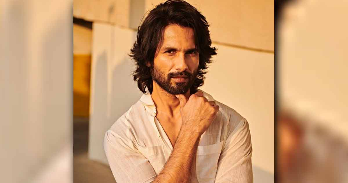Shahid Kapoor unmasks 20 seconds of his life