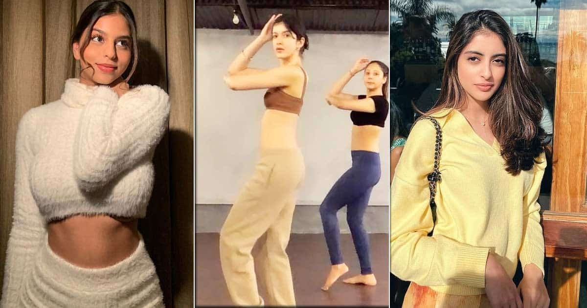 Shanaya Kapoor's Belly Dancing Has Left Suhana Khan & Navya Naveli Nanda In Awe, Check Out