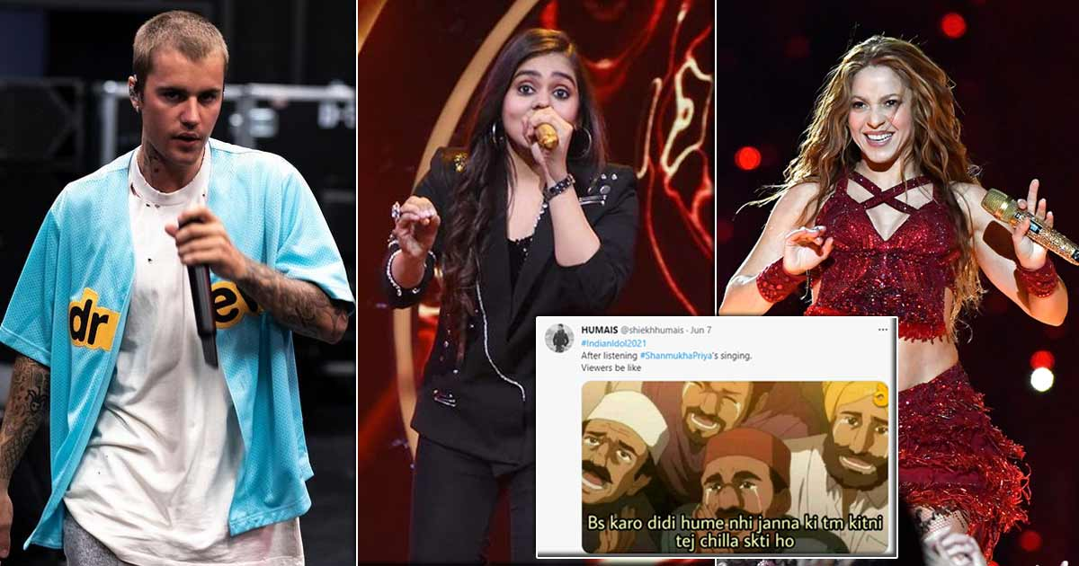 Shanmukhapriya is being compared to Justin Bieber and Shakira and netizens are having a field day!
